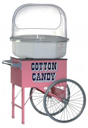 Verkaufswagen Zuckerwatte