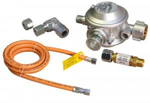 Anschlussset für Gas-Crêpesgeräte