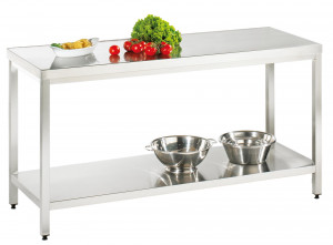 Arbeitstisch mit Grundboden - 2100 mm x 600 mm x 850 mm