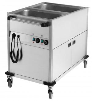 Bain-Marie-Schrank mit Wärmeschrank