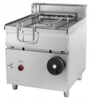 Kippbratpfanne Elektro, 800x900x900 mm, 80 Liter, 50-300 °C,