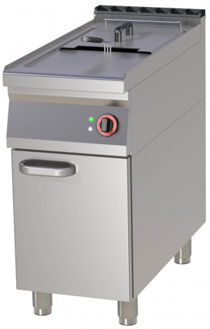 Elektro Fritteuse, 400x900x900 mm, Unterbau mit Tür,