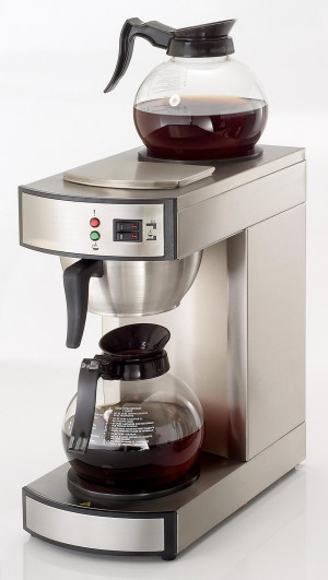 Kaffeemaschine, 250x430x520 mm, 1,8 Liter, 230 V, 50 Hz,