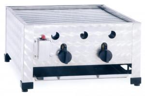 Kombibräter, Gas, Tischgerät, 485 mm x 530 mm x 280 mm