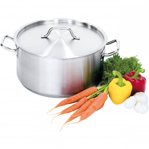Suppentopf mit Deckel, Ø 200 mm, Höhe 105 mm, 3,3 Liter