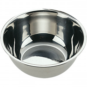 Küchenschüssel, poliert, Ø 30 cm