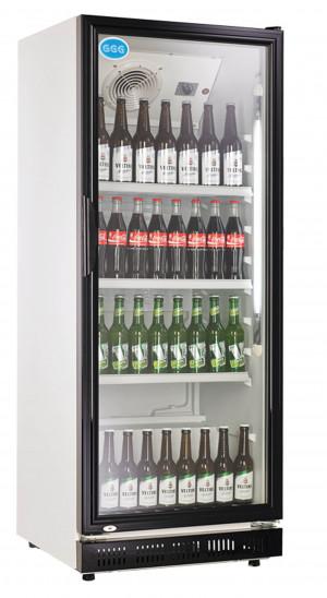 Kühlschrank mit Glastür, 310 Liter