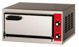 Pizzaofen, Edelstahl, Außenmaße: 555 x 460 x 290 mm,