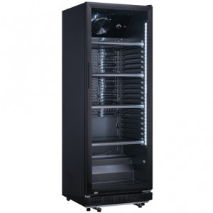 Flaschenkühlschrank 230 Liter, schwarz