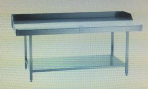 Zerlegetisch / Metzgertisch 1500 x 700 x 850 mm