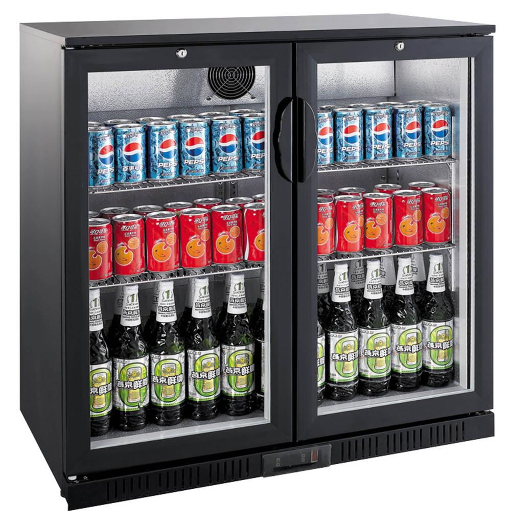 Kühlschrank mit Glastür - Gastrotec24