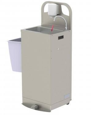Mobiles Handwaschbecken SM13 mit Durchlauferhitzer