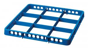 Spülkorbteiler 9, 500x500x45, blau
