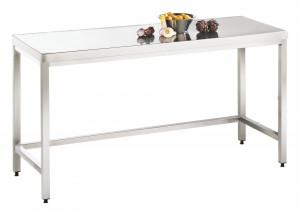 Arbeitstisch ohne Grundboden - 2500 mm x 600 mm x 850 mm