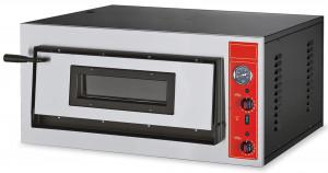 Edelstahl-Pizzaofen für 4 Pizzen Ø 30 cm