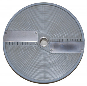 Streifenscheibe 6 x 6 mm