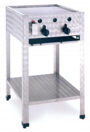 Kombibräter, Gas, Standgerät, 485 mm x 530 mm x 830 mm