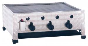 Kombibräter, Gas, Tischgerät, 650 mm x 530 mm x 280 mm