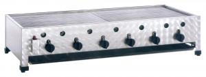 Kombibräter, Gas, Tischgerät, 1145 mm x 530 mm x 280 mm