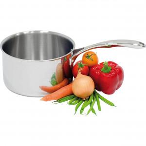 Stielkasserolle ohne Deckel, Ø 200 mm, Höhe 120 mm, 3,8 Liter