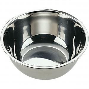 Küchenschüssel, poliert, Ø 20 cm