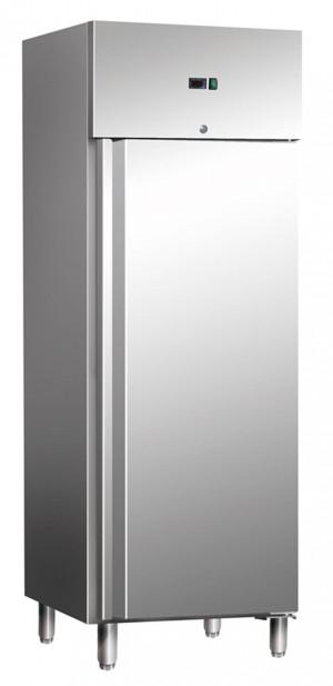 Tiefkühlschrank Edelstahl, 740 mm x 830 mm x 2000 mm, 589 Liter, GN 2/1