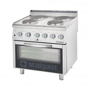 Elektroherd mit Backofen (600 x 400 mm / GN 1/1) Serie 700 ND, 4-Platten (4x2,6)