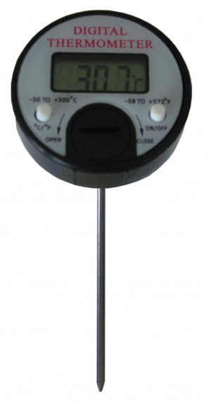 Einstech-Thermometer digital