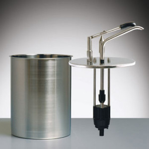 Hebeldosierspender / Mayo-Dispenser 4 Liter