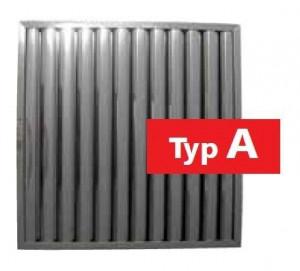 Flammschutzfilter Typ A, 400 mm x 450 mm x 20 mm