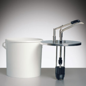 Hebeldosierspender / Mayo-Dispenser 5 Liter