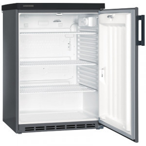 Liebherr Kühlschrank, anthrazit